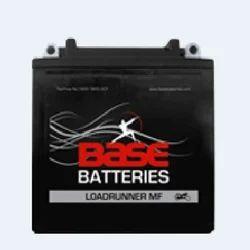 Base Black Two Wheeler Acid Lead Battery