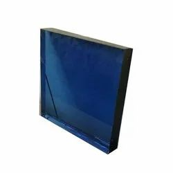 Blue,Black and Green Tinted Float Annealed Glass, For Office, Thickness: 8-12 Mm