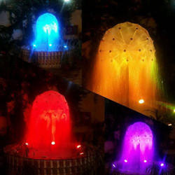 Multi Colors Ball Fountain