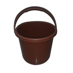 Brown Plastic Bucket