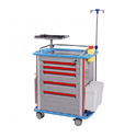 Emergency Trolley, Size: Lxbxh (820 X 640 X 1000(mm))