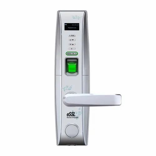 ESSL Main Door L4000 Fingerprint Lock, Digital Keypad, Stainless Steel