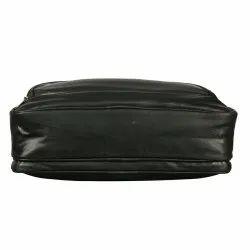 Black Nylon waterproof Non leather office laptop bag