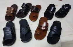 Men Leather Chappal