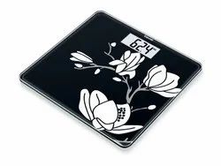 Weighing Scale Digital Printed Toughened Glass, Size: 300 mm X 300 mm, Shape: Square