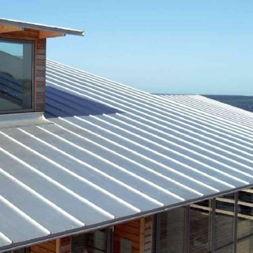 Aluminum Standing Seam Roofing Sheet Rs 350 Square Meter