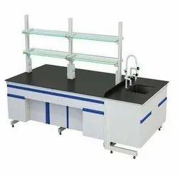 Mild Steel Rectangular MS Lab Table
