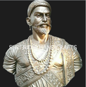 Chatrapati Shivaji Metal Statue