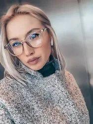 Female Anti Blue Ray Glasses