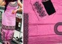 Large Cotton Modern Ladies Pink Kurti