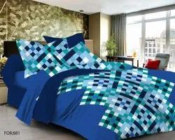 Box Print Bed Sheet