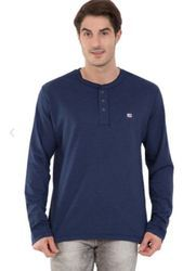 Ink Blue Melange Long Sleeve TShirt