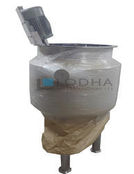 Stainless Steel Pharmaceutical Vessel, Capacity: 500-1000 L