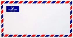 White Paper Airmail Envelopes - %6, For Courier