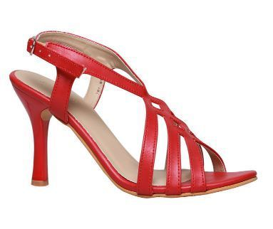 Leather Formal Bata Red Sandals For