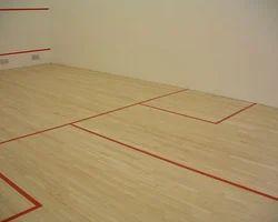Wooden Squash Court