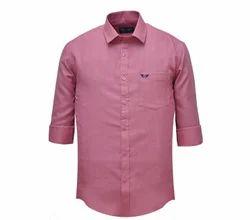 Jack Vault Rouge regular fit - solid formal shirt - rouge-1036