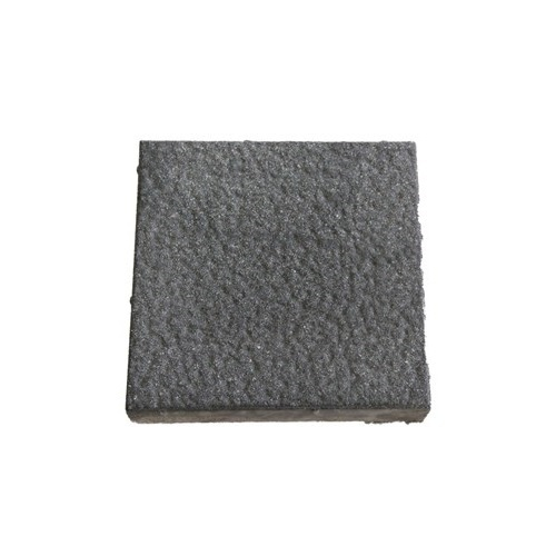 Natural Stone Grey Dotted Parking Tiles, Size: Large , Thickness: 10 - 12 mm