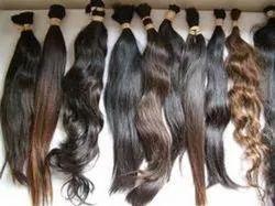 Wavy Virgin Bulk Hair