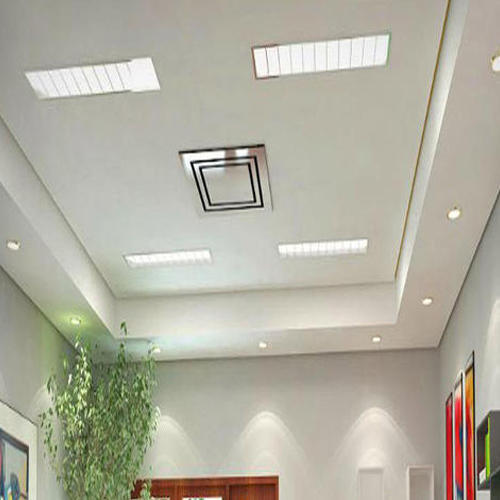 Bedroom Designs From Professionals In Hyderabad  C2NyYXBlLTEtRHBWSGVH: Gypsum False Ceiling In Old Perungalathur, Chennai