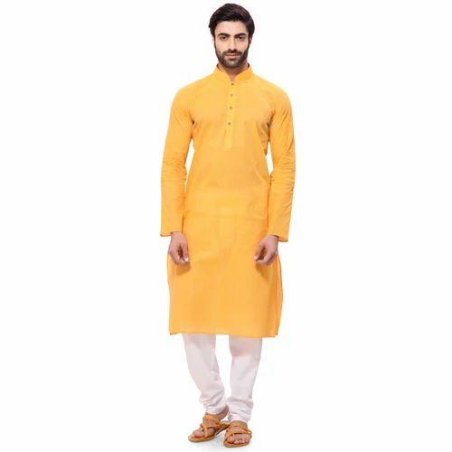 947539a840 Cotton Casual Wear Mens Kurta Pajama, Size: 42, Rs 550 /set | ID ...