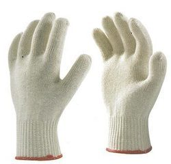 Poly-Cotton and Cotton Knitted Seamless 7 and 10 Gauge Gloves