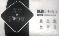 D'Decor Pillow Swiss Check Ball Fibre