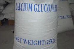 Calcium Gluconate Powder, Packaging Size: 25 kg, Packaging Type: Bag