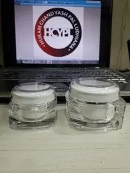 Square Acrylic Cream Jars