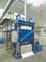Hydraulic Coir Fiber Baling Press