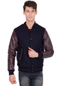 Casual Jackets Leather Winter Jacket - Men