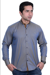 38 & 42 Cotton Nehru Collar Casual Shirt