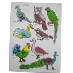 Birds Puzzle Tray