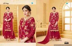 Wedding Wear Salwar Kameez Y.C Preet Salwar Suits Collection
