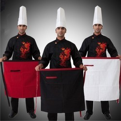 3 Piece Service Apron Cook Wear House Wear