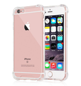 Plus Protective Soft Transparent Shockproof Hybrid Protection Back Case Cover for Apple iPhone 6/6S