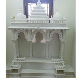 White Beautiful Marble Temple For Home
