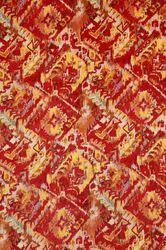Natural Munga Silk Printed Fabric