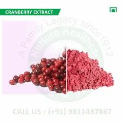Cranberry Extract (Vaccinium Subg, Oxycoccus, Small Cranberry)
