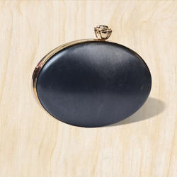 8.5x6 Inch Oval Box Clutch Frame