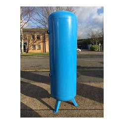 Blue 500 Liter Vertical Air Receiver Tank