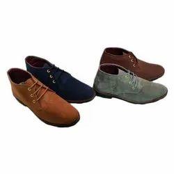 Casual Lace Up Asken Atelier Mens Suede Shoes, Size: 6-10
