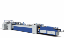 Sahil Graphics 60-80 Fully Automatic Paper Bag Making Machine, Capacity: 80-100 (Pieces per hour), 220v
