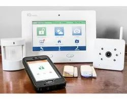 Intrusion Security Alarm with Fog Release System