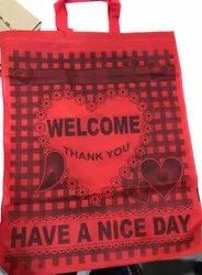 NON WOVEN PRINTED LOOP BAGS
