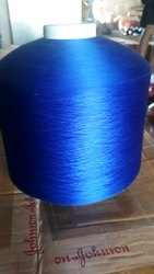 Blue Polyester Yarn