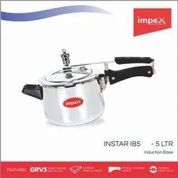 Aluminium Pressure Cooker 5 Ltr  (Instar Ib5)
