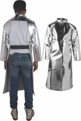 Aluminized Back Open Coat (Foundry Jacket)
