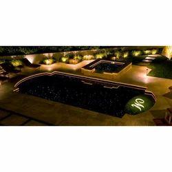 Swimming Pool Fiber Optic Light