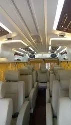 Luxury Tempo Travellers Maharaja Seat Rental In Mumbai
